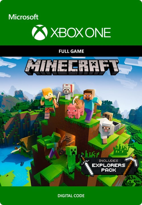 Xbox One - Minecraft: Explorer's Pack Download (ESD) 785300136293 Photo no. 1