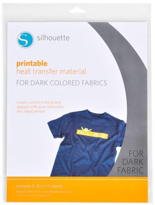 Aufbügelfolie A4 dunkle Stoffe Silhouette 785300141869 Bild Nr. 1