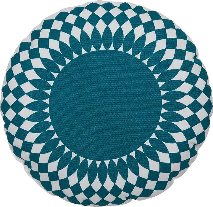 MARCES Cuscino 450762041044 Colore Turchese Dimensioni L: 40.0 cm x A: 40.0 cm N. figura 1