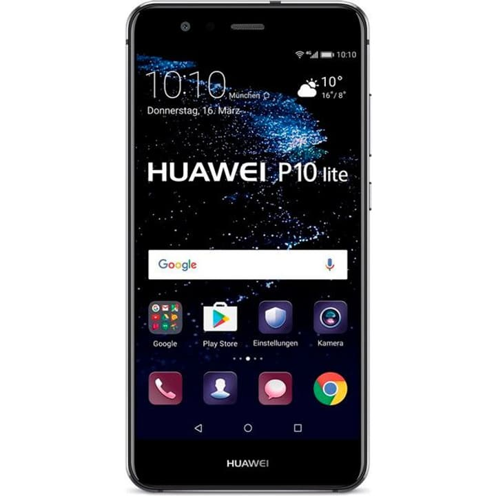 P10 lite Dual SIM 32GB nero Smartphone Huawei 785300125357 N. figura 1