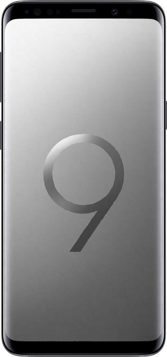 Galaxy S9 DUOS Dual SIM 256GB Titanium Grey Smartphone Samsung 785300137214 Bild Nr. 1