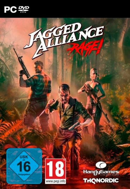 PC - Jagged Alliance Rage (D) Box 785300138890 Bild Nr. 1