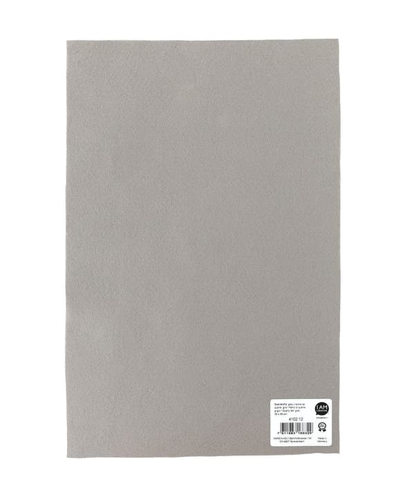 Feltro di qualità, grigio, 20x30cm x 1mm 666913500000 N. figura 1