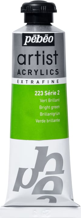 Pébéo Acrylic Extrafine Pebeo 663509022300 Couleur Vert Brillant Photo no. 1