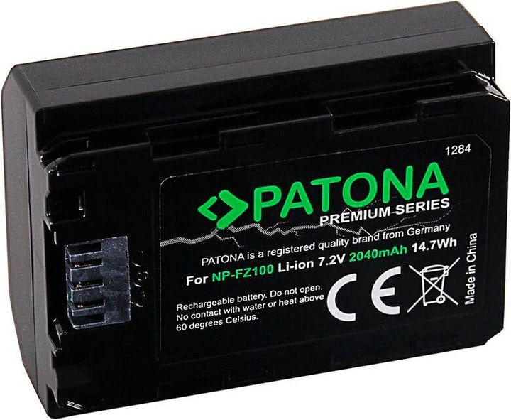 Premium Sony NP-FZ100 Batterie Patona 785300144508 Photo no. 1