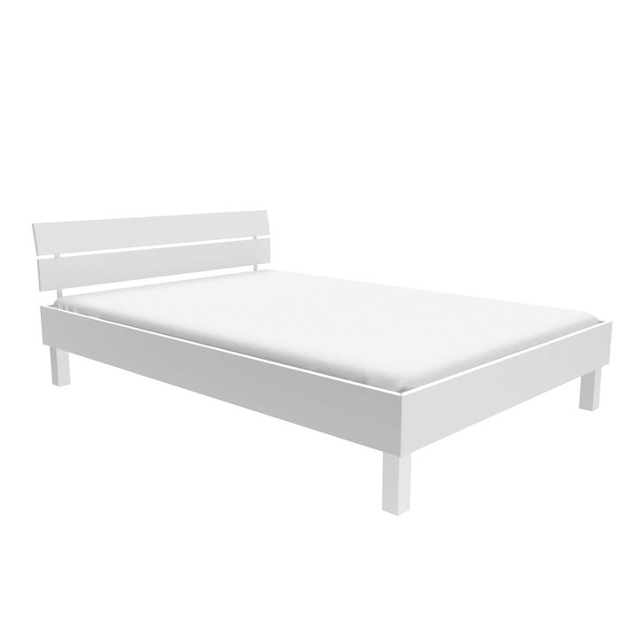 TOPLINE Bett HASENA 403561500000 Grösse B: 120.0 cm x T: 200.0 cm Farbe Weiss Bild Nr. 1