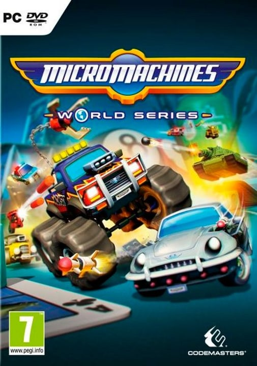 PC - Micro Machines World Series Physique (Box) 785300122322 Photo no. 1