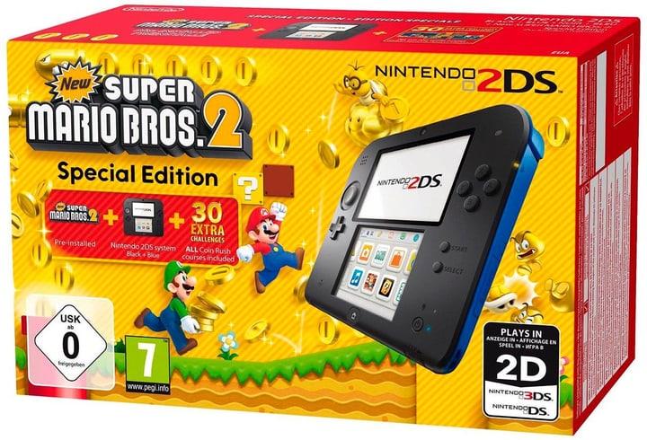 2DS nero incl. New Super Mario Bros. 2 Nintendo 785425600000 N. figura 1