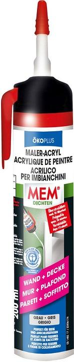 Acrilico imbianchini écopl grigio, 200 ml Mem 676046400000 N. figura 1