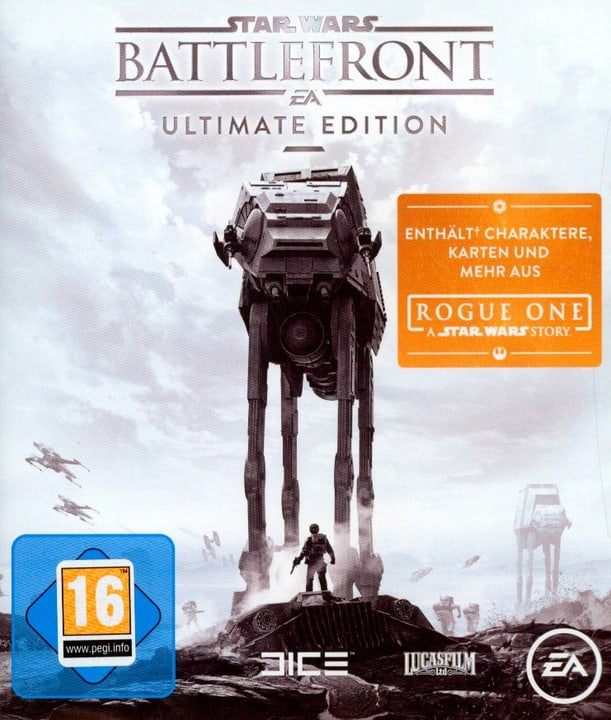 Xbox One - Star Wars Battlefront Ultimate Edition Box 785300129610 N. figura 1