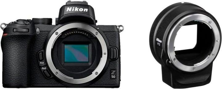 Z 50 body + FTZ Adaptateur appareil photo hybride Nikon 785300148436 Photo no. 1