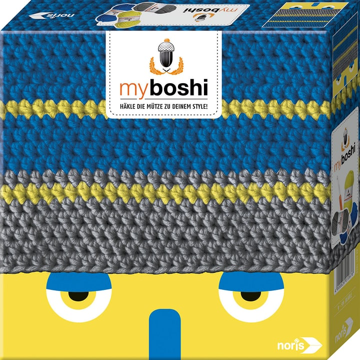 box set de crochet Oita/Tama My Boshi 665400800000 Couleur Bleu coloré Photo no. 1