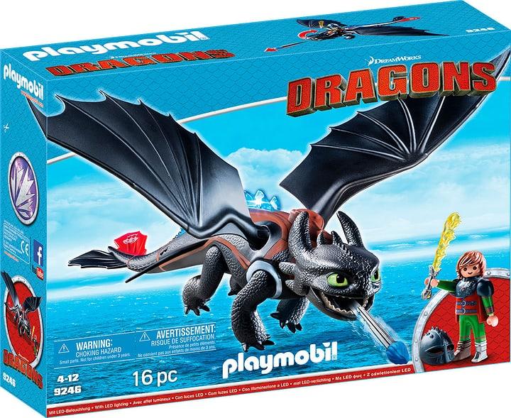 Playmobil Dragons Hiccup e Sdentato 9246 746086400000 N. figura 1
