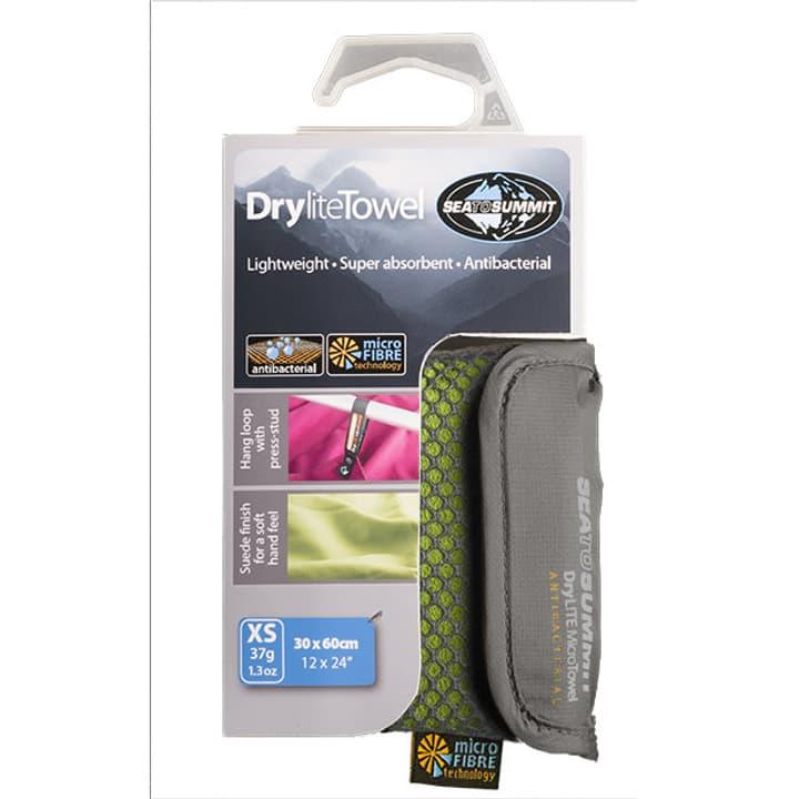 Drylite Towel XS Asciugamani Sea To Summit 491258200261 Colore verde chiaro Taglie XS N. figura 1