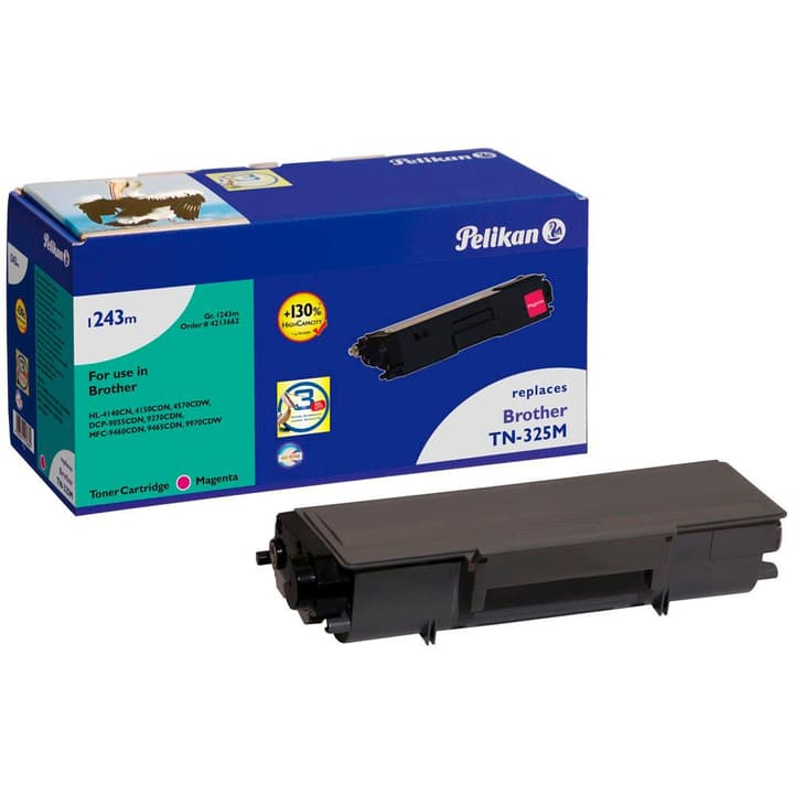 1243m TN-325M magenta Cartouche toner Pelikan 785300123301 Photo no. 1