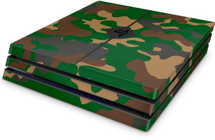 EpicSkin Camouflage Green PS4 Pro 785300144529 Photo no. 1