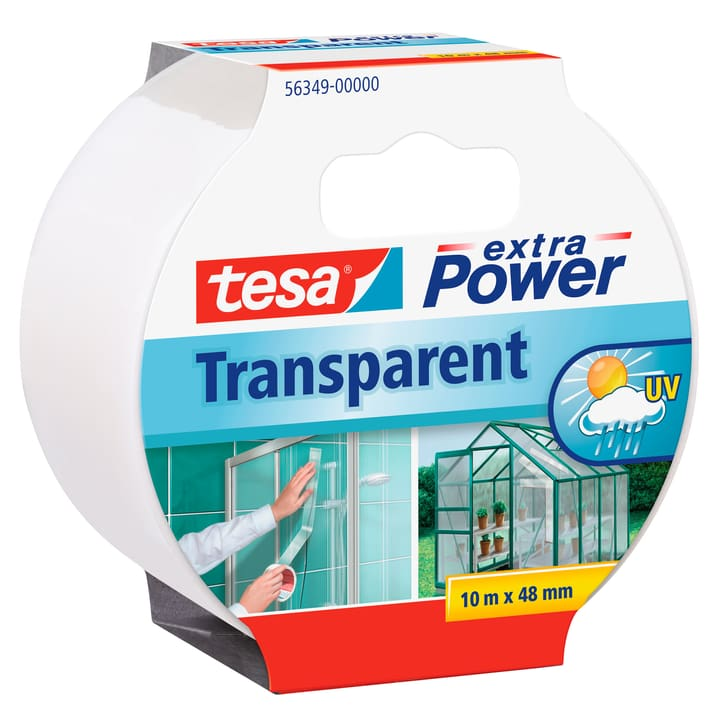 extra Power® Transparent 10m:48mm Tesa 663084300000 Bild Nr. 1