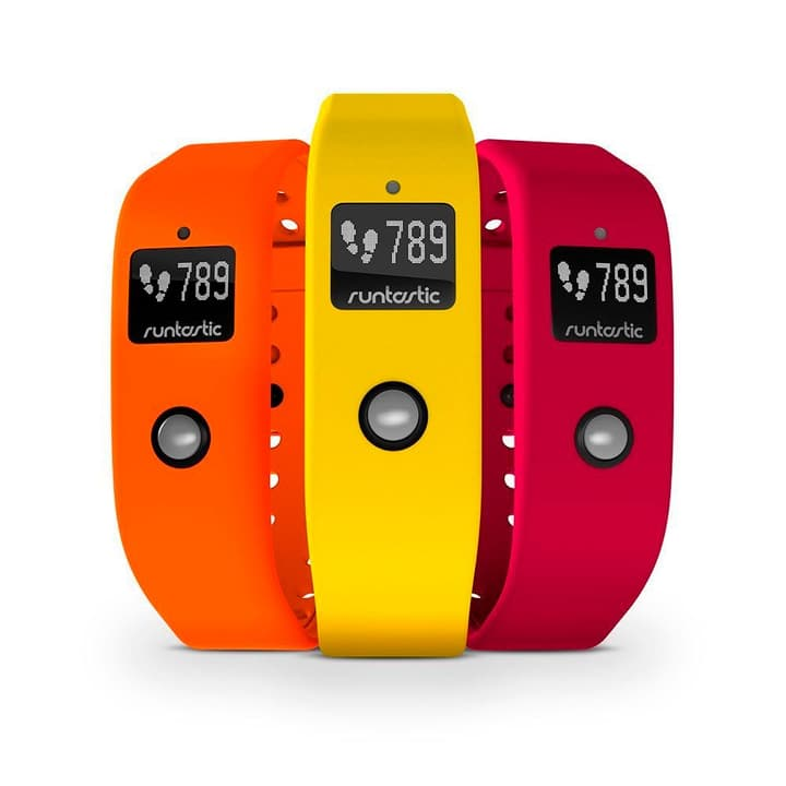 Runtastic Orbit Set bracelet jaune / orange / rouge Runtastic 785300125314 Photo no. 1