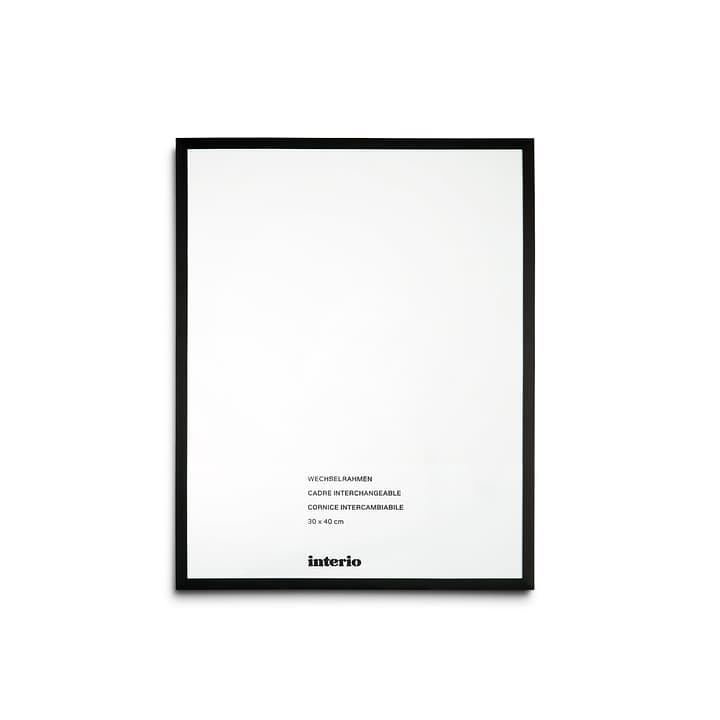 PANAMA Cornice 384002613302 Dimensioni quadro 30 x 40 Colore Nero N. figura 1