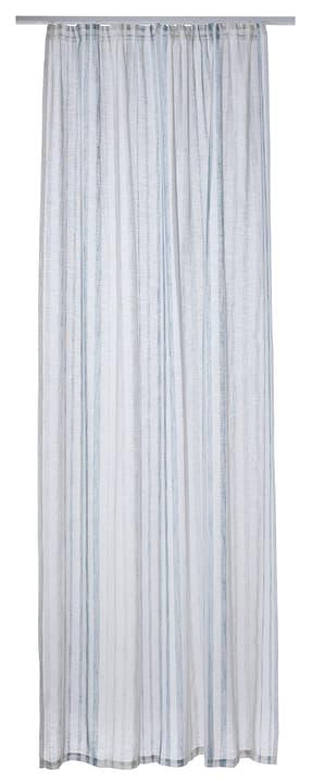 VINCENTE Rideau prêt à poser jour 430263920740 Couleur Bleu Dimensions L: 140.0 cm x P: 250.0 cm x H:  Photo no. 1