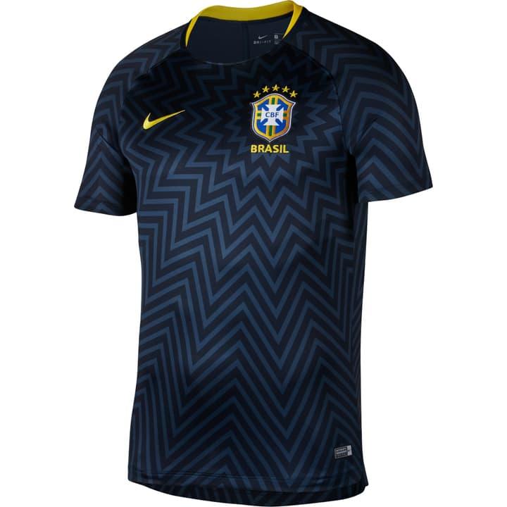 CBF Dri-FIT Squad Réplique du maillot porté à domicile par l'équipe nationale brésilienne de football. Nike 498282200322 Couleur bleu foncé Taille S Photo no. 1