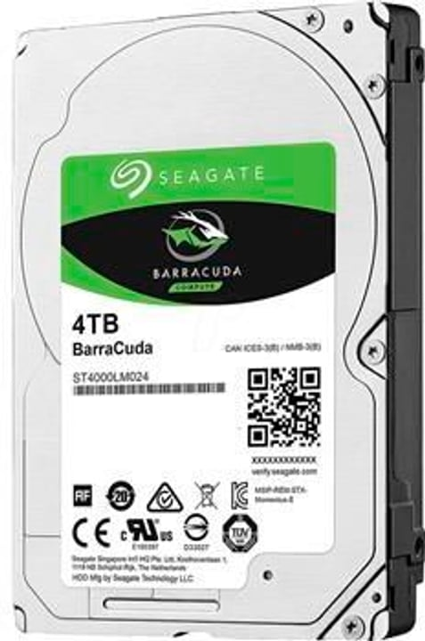 """HDD BarraCuda 4TB 2.5"""", SATA HDD Intern Seagate 785300143380 Bild Nr. 1"""