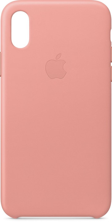 Leather Case iPhone X Soft Pink Custodia Apple 785300135051 N. figura 1