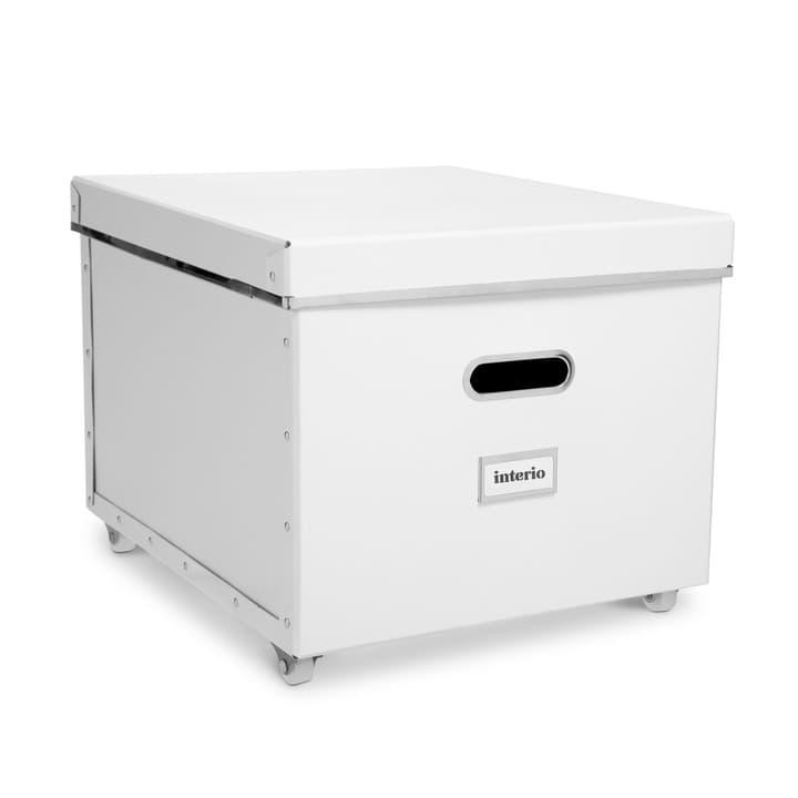 BIGSO boite rouland 386241800000 Dimensions L: 40.0 cm x P: 35.5 cm x H: 27.5 cm Couleur Blanc Photo no. 1