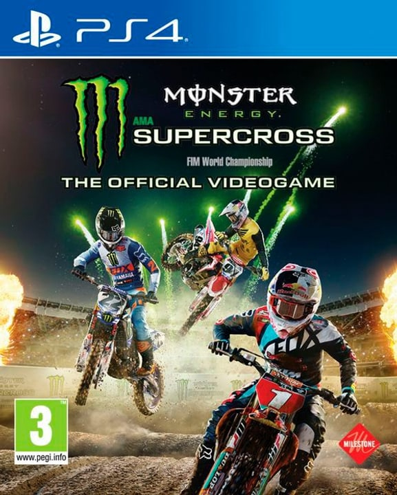 Monster Energy Supercross - The official Physique (Box) 785300131226 Photo no. 1