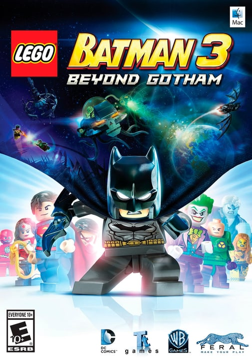 Mac - LEGO Batman 3: Jenseits von Goth Download (ESD) 785300134082 N. figura 1