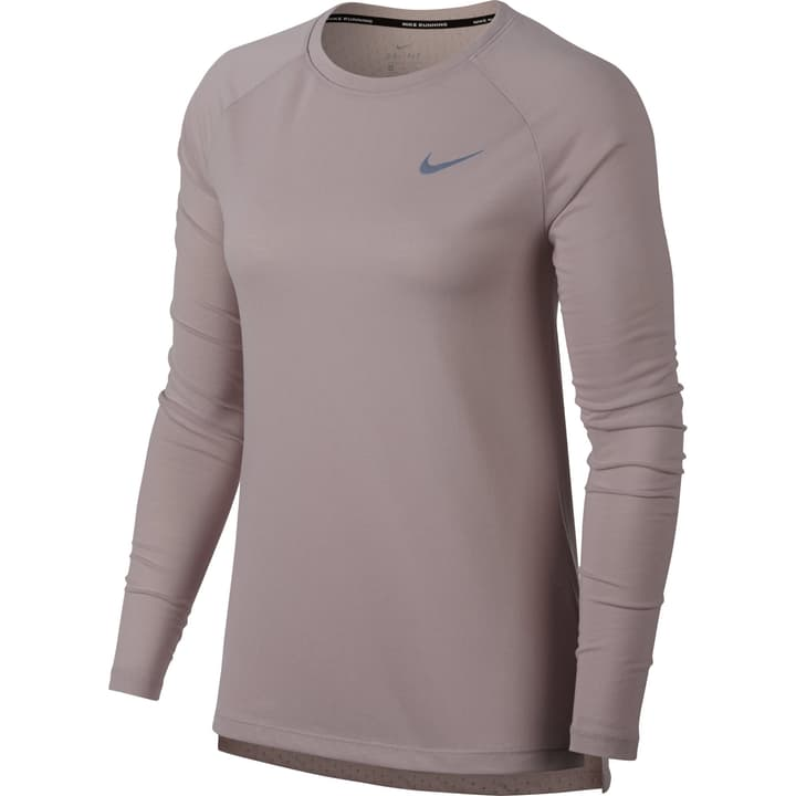 Tailwind Long-Sleeve Running Top Maillot à manches longues pour femme Nike 470142900338 Couleur rose Taille S Photo no. 1