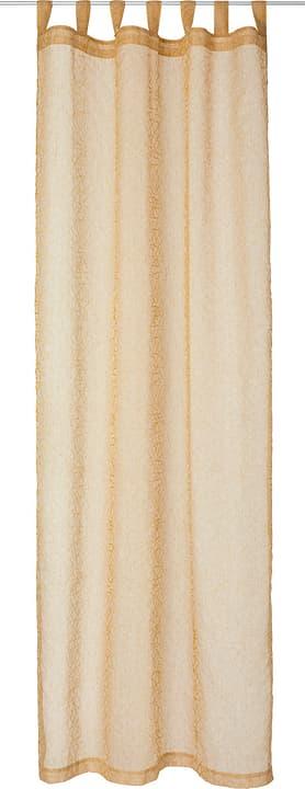 NORA Rideau prêt à poser jour 430274821850 Couleur Jaune Dimensions L: 150.0 cm x H: 260.0 cm Photo no. 1