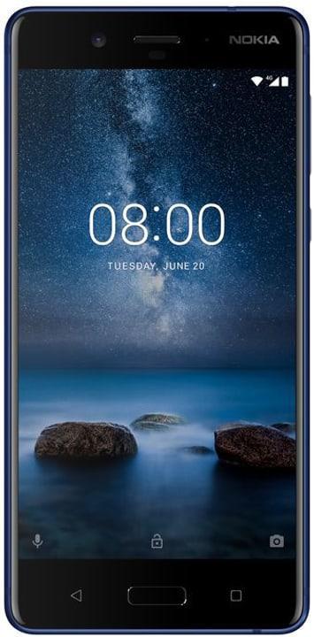 8  Single Sim  tempered blu Smartphone Nokia 785300133252 N. figura 1