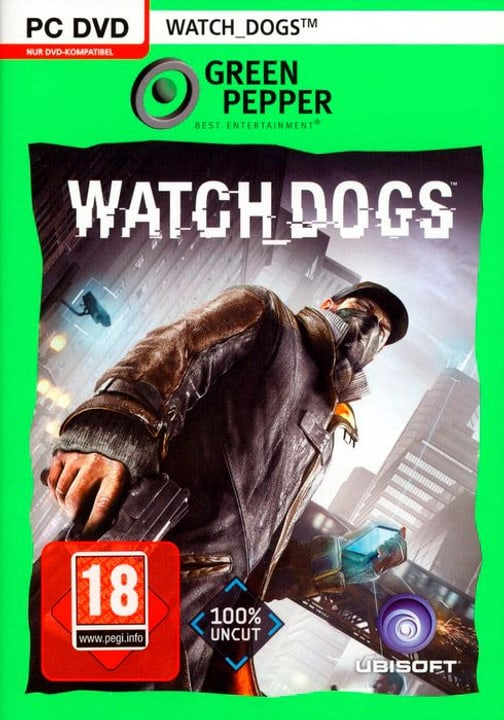 PC - Green Pepper: Watch Dogs 785300122192 Photo no. 1