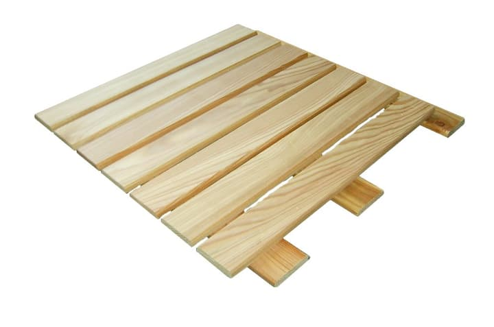 Griglia in legno di larice naturale 50 x 50 cm HolzZollhaus 647150200000 N. figura 1