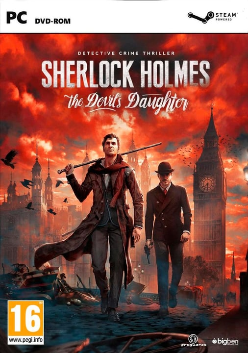 PC - Sherlock Holmes The Devils Daugter 785300120872 Photo no. 1