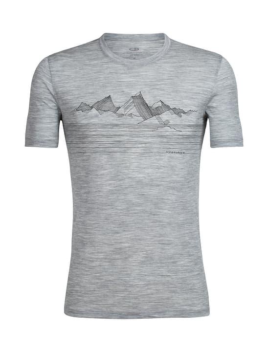 Spector Approach T-shirt à manches courtes pour homme Icebreaker 477075800781 Couleur gris claire Taille XXL Photo no. 1