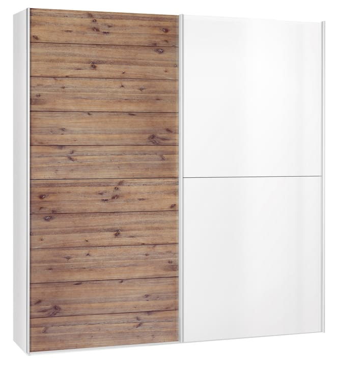CORELLE Armoire 404442300000 Dimensions L: 202.0 cm x P: 67.0 cm x H: 220.0 cm Couleur Couleur brillant Photo no. 1