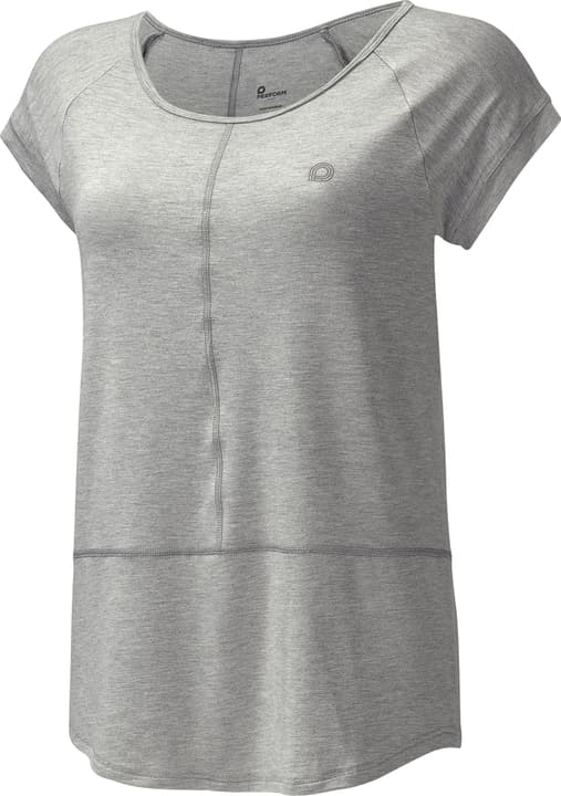 Damen-T-Shirt Damen-T-Shirt Perform 464909003680 Farbe grau Grösse 36 Bild-Nr. 1