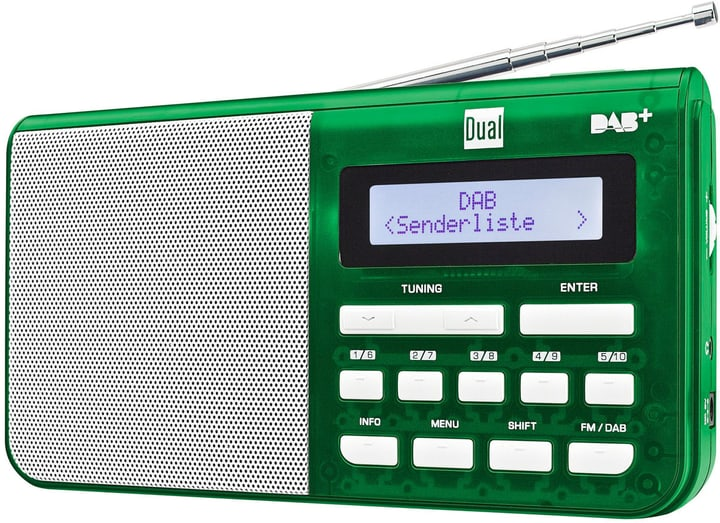 DAB 4.1 T - Vert Radio DAB+ Dual 773022200000 Photo no. 1