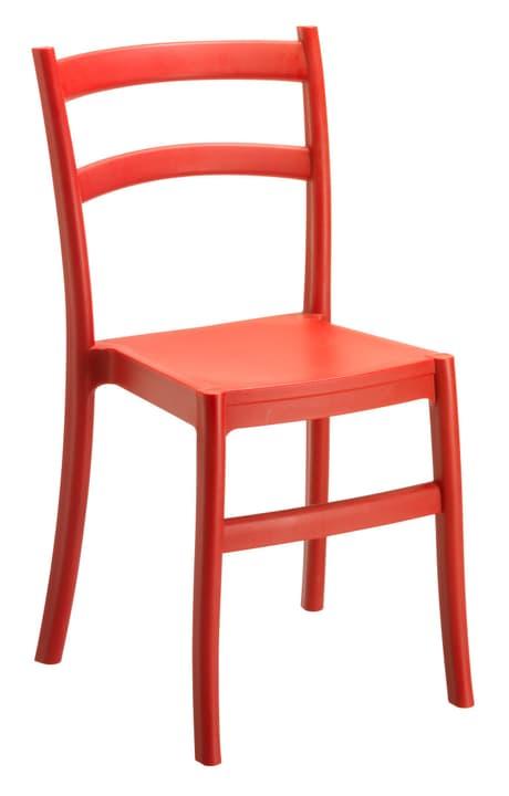 Stuhl ARES 753162200030 Farbe Rot Grösse B: 51.0 cm x T: 45.0 cm x H: 85.0 cm Bild Nr. 1