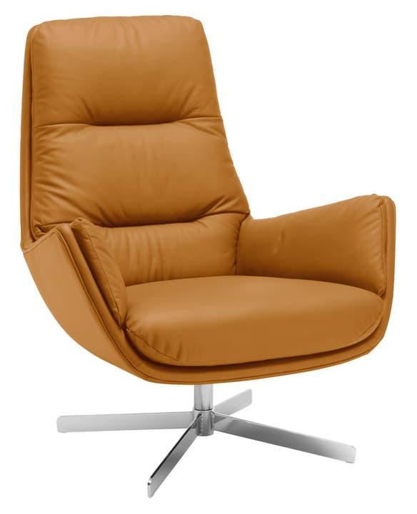 ANDRES Sessel 402444707055 Grösse B: 83.0 cm x T: 87.0 cm x H: 96.0 cm Farbe Cognac Bild Nr. 1