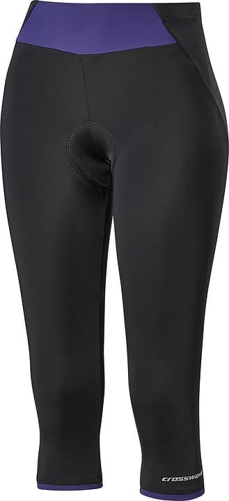 Collant ¾ pour femme Crosswave 461355404020 Couleur noir Taille 40 Photo no. 1