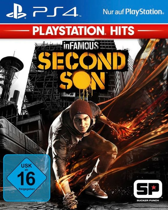 PS4 - PlayStation Hits: inFamous: Second Son Physisch (Box) 785300137759 Bild Nr. 1