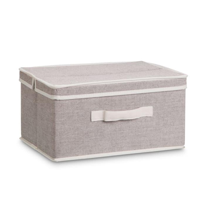 AGRA Boîte en tissu 386153200000 Dimensions L: 40.0 cm x P: 34.0 cm x H: 18.0 cm Couleur Sable Photo no. 1