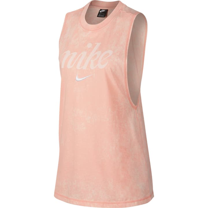 Women NSW Tank Top da donna Nike 464219500456 Colore albicocca Taglie M N. figura 1