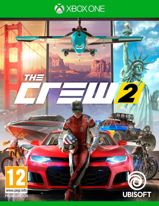 Xbox One -The Crew 2 Physique (Box) 785300128782 Langue Français, Allemand, Italien Plate-forme Microsoft Xbox One Photo no. 1