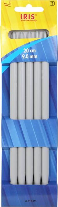 Aiguilles à tricoter 20cm - 9.0mm Iris 665462200020 Taille L: 20.0 cm x L: 9.0 mm Photo no. 1