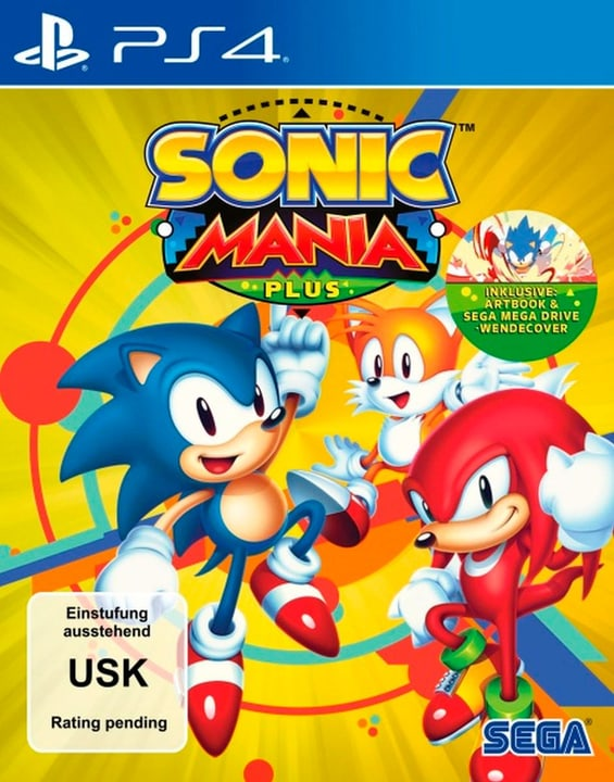 PS4 - Sonic Mania Plus (D) Fisico (Box) 785300135227 N. figura 1