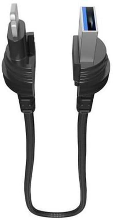 "Câble 0.4m, Lightning->USB ""black"" Câble LifeProof 785300148989 Photo no. 1"